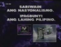 ABS-CBN Sariwain Ang Nasyonalismo, Ipagbunyi Ang Lahing Pilipino