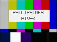PTV 4 Test Card (1992-2001)