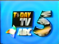 ABC 5 Logo ID August 1992