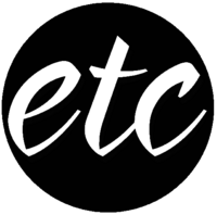 ETC Christmas Print Logo (November-December 2014)