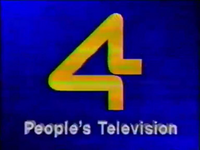PTV 4 Logo ID 1989