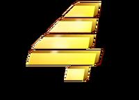 PTV 4 Logo January 1995