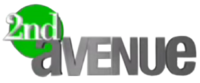2nd Avenue 3D Logo (2007-2011)