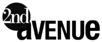 2nd Avenue Print Logo (2007-2011)
