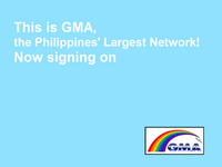 GMA Sign On 1995