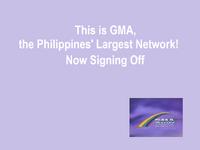 GMA Rainbow Satellite Sign Off 1992