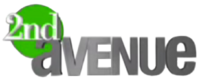2nd Avenue 3D Logo January 2008