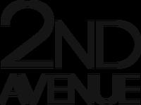 2nd Avenue Print Logo (February-October 2016)