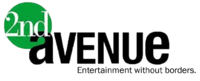 2nd Avenue Entertainment without borders. Logo 2007