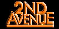2nd Avenue 3D Logo 2016