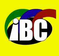 IBC 13 Logo Microphone Flag 2002