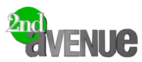 2nd Avenue 3D Logo 2007