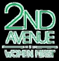 2nd Avenue Women First Logo (2014-2016)