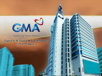 GMA Sign On and Sign Off 2011