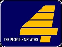 PTV 4 Logo 1990