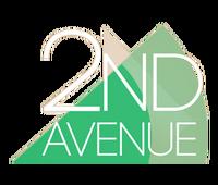 2nd Avenue 3D Logo (2014-2016)
