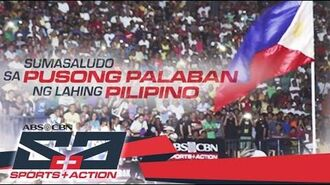 Pusong palaban ng lahing Pilipino - ABS-CBN Sports And Action 2016 Station ID