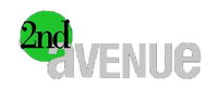 2nd Avenue Negative Logo (2007-2009)