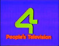 PTV 4 Logo ID 1986