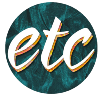 ETC Dark Blue Green Velvet Logo (September-October 2016)