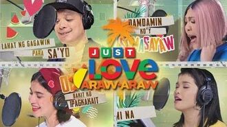 "ABS-CBN Summer Station ID 2018 ""Just Love Araw-Araw"" Lyric Video"