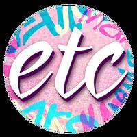 ETC Sparkle Pink Logo (September-October 2015)