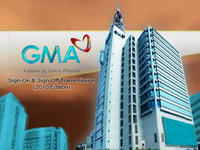 GMA Sign On and Sign Off 2010
