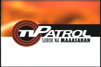 TV Patrol OBB May 2004