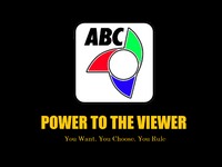 ABC 5 Logo ID Power To The Viewer You Want You Choose You Rule