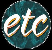 ETC Dark Blue Green Velvet 2D Logo (September-October 2016)