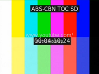 ABS-CBN TOC SD Test Card