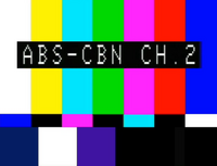 ABS-CBN Test Card (1986-2015)