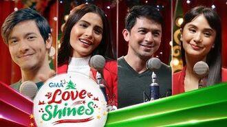 GMA Christmas Station ID 2019 Lyric Video- Love Shines