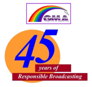 GMA 45 Years Logo
