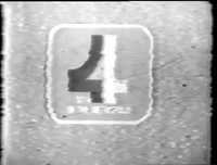 GTV 4 Logo ID 1977 Wide Quatrovision World