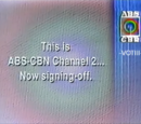 ABS-CBN Station Message
