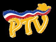 PTV 4 Logo October 1995