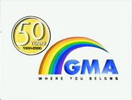 GMA Logo ID 50 Years