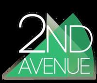 2nd Avenue 3D Logo (February-October 2016)