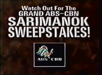 ABS-CBN Watch Out For the Grand ABS-CBN Sarimanok Sweeptakes!
