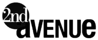 2nd Avenue Print Logo July 2008