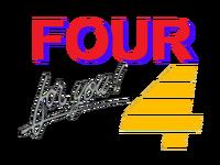 PTV 4 Four For You! Logo 1990