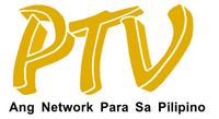 PTV 4 Ang Network Para Sa Pilipino Wordmark Logo 1995
