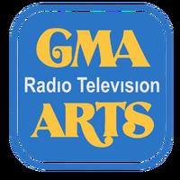 GMA Radio-Television Arts Logo 1986