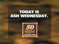 ABS-CBN Today Is Ash Wednesday