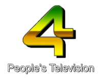 PTV 4 People's Television Logo 1987