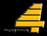 PTV 4 2D Logo (1989-1995)