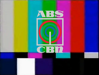 ABS-CBN Test Card (1986-2000)