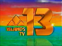 Islands TV-13 Logo ID 1991