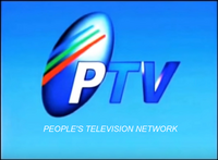 PTV 4 Logo ID People's Television Network 2000
